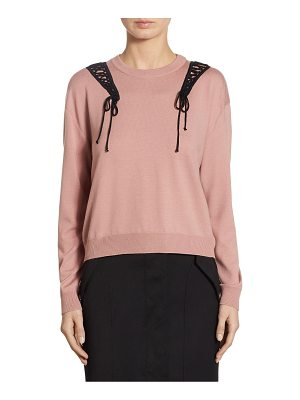 Moschino Wool Roundneck Pullover