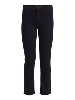 MOTHER the dazzler mid-rise crop straight-leg jeans