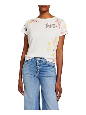 MOTHER Goodie Goodie Boxy Graphic Tee