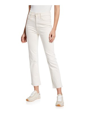 MOTHER High-Waist Rider Ankle Jeans