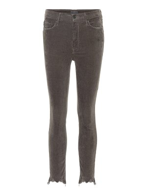 MOTHER high waisted looker ankle chew corduroy jeans