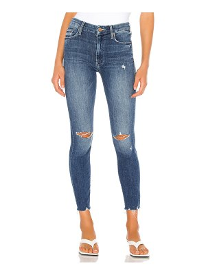 MOTHER high waisted looker ankle fray. - size 23 (also