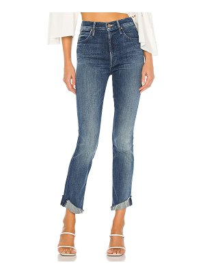 MOTHER high waisted rascal ankle slit flip. - size 23 (also