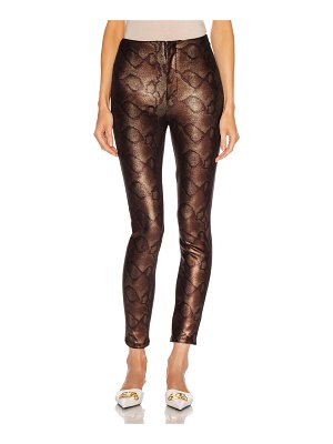 MOTHER high waisted seamless looker ankle