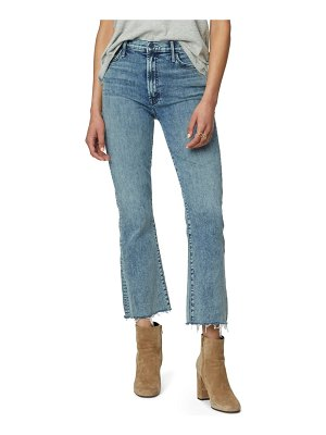 MOTHER hustler fray ankle bootcut jeans