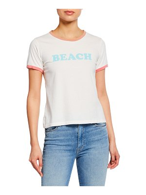 MOTHER Itty Bitty Goodie Ringer Beach Tee