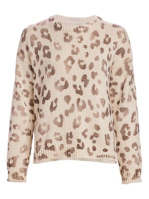 MOTHER leopard sweater