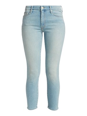 MOTHER the looker high-rise crop skinny jeans
