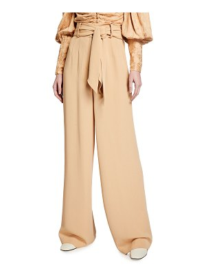 Mother of Pearl Wide Leg Trousers