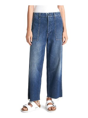 MOTHER private a wide leg jeans