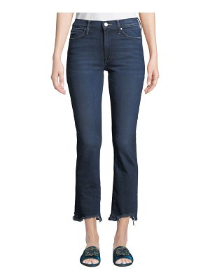 MOTHER Rascal Chewed-Hem Ankle Jeans