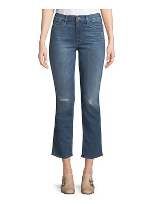 MOTHER Rascal Flared-Leg Ankle Jeans