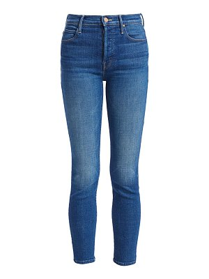 MOTHER super stunner high-rise skinny ankle jeans