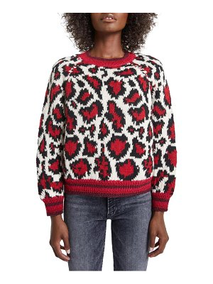MOTHER the boat leopard sweater