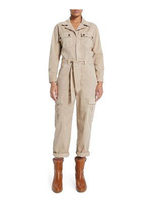 MOTHER the cargo fixer long sleeve jumpsuit