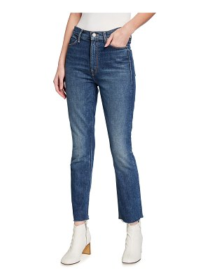 MOTHER The Dazzler Ankle Fray Jeans