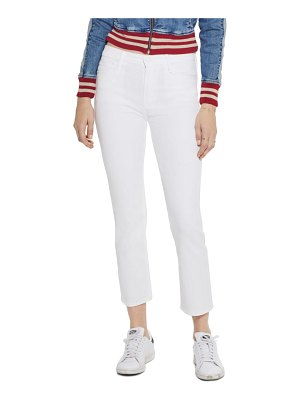 MOTHER the dazzler high waist ankle straight leg jeans