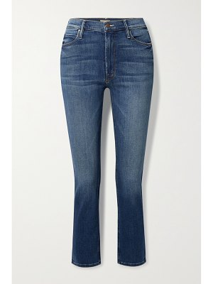 MOTHER the dazzler mid-rise straight-leg jeans