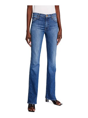 MOTHER The Double Insider Kick Flare Jeans