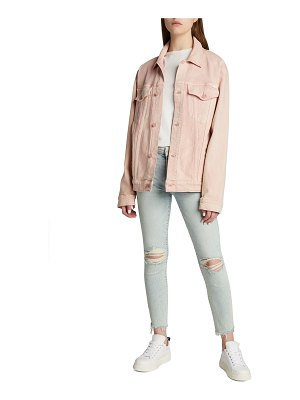 MOTHER The Drifted Off Trucker Jacket