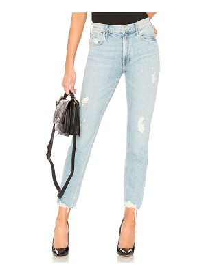 MOTHER The Flirt Ankle Fray Jean