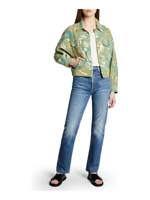 MOTHER The Fly Away Denim Jacket
