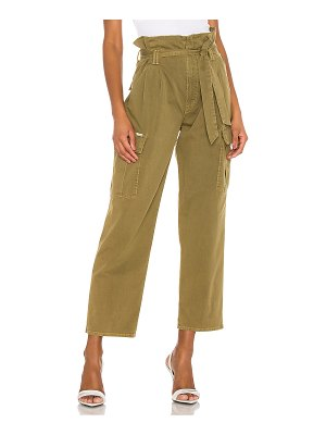 MOTHER the greaser paperbag pleated cargo ankle