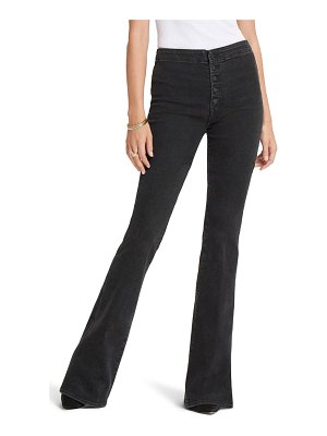 MOTHER the hollywood pixie cruiser high waist flare jeans