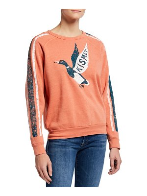 MOTHER The Hugger Kismet Raglan Sweatshirt