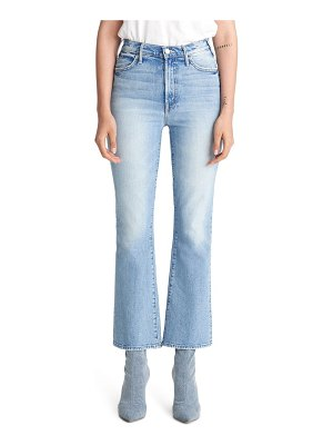 MOTHER the hustler ankle bootcut jeans