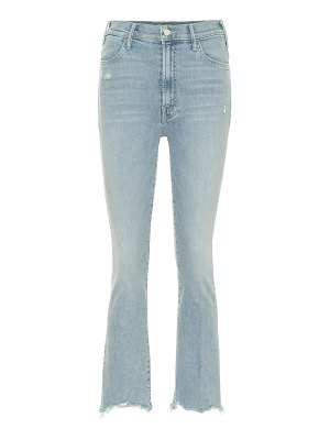 MOTHER the hustler cropped high-rise jeans
