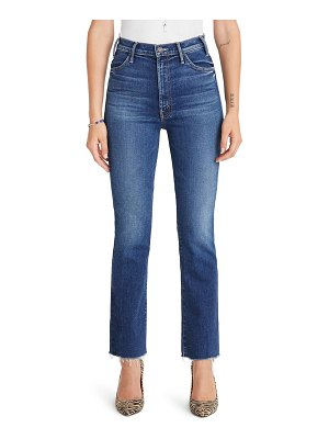 MOTHER the hustler high waist ankle flare jeans