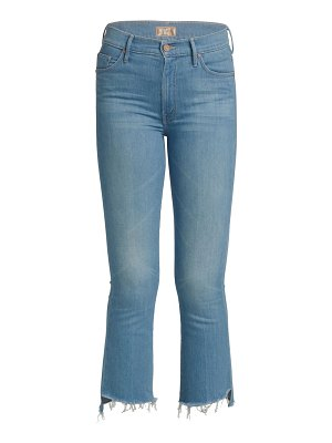 MOTHER the insider crop step-hem jeans