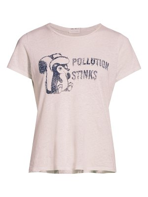 MOTHER the itty bitty goodie goodie pollution stinks t-shirt