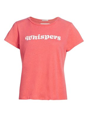 MOTHER the little sinful whispers t-shirt