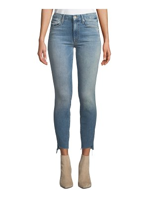MOTHER The Looker Ankle Step Fray Skinny Jeans
