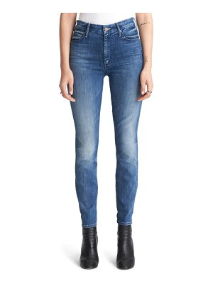 MOTHER the looker high waist ankle skinny jeans