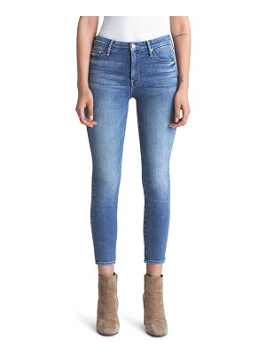 MOTHER the looker high waist crop skinny jeans