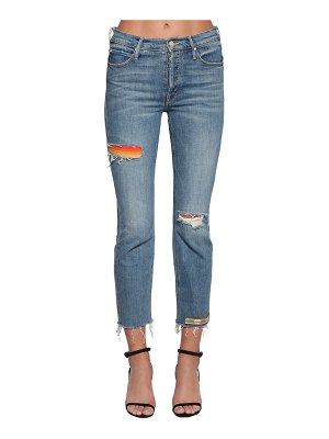 MOTHER The mid rise button fly denim jeans
