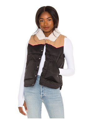 MOTHER the ol' west puffer vest