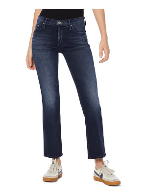 MOTHER the outsider crop bootcut jeans