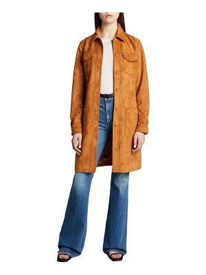 MOTHER The Patch Pocket Car Coat