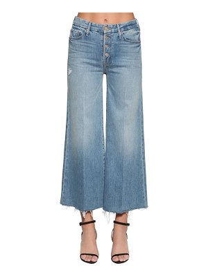 MOTHER The pixie roller frayed ankle jeans