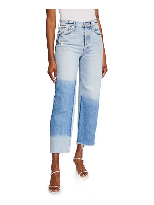 MOTHER The Rambler Ankle Fray Jeans