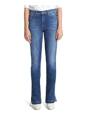 MOTHER the rascal high waist slice flare jeans