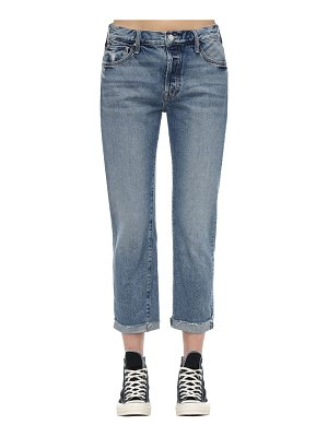 MOTHER The scrapper frayed ankle denim jeans