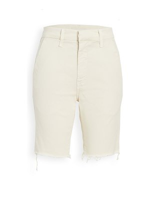 MOTHER the shaker prep fray shorts