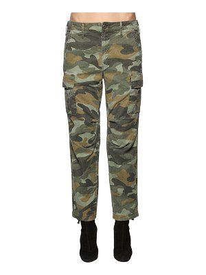 MOTHER The sir yes sir cotton & linen pants