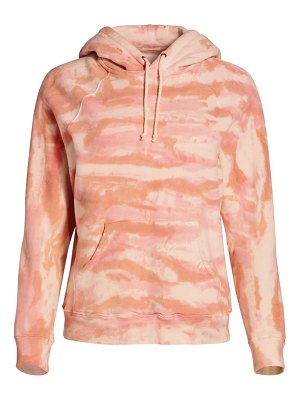 MOTHER the square tie-dye hoodie