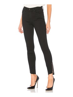 MOTHER The Stunner Double Zip Ankle Step Fray